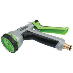 Draper 7 Pattern Spray Gun With Brass Adapter
