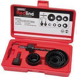 Draper Redline 11pc Hole Saw Kit