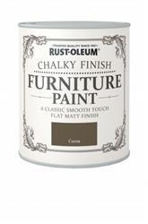 Rustoleum Chalky Finish Furniture Paint Cocoa 125ml