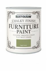 Rustoleum Chalky Finish Furniture Paint Sage Green 125ml
