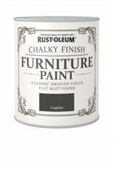 Rustoleum Chalky Finish Furniture Paint Graphite 125ml