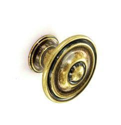 Securit Antique Cupboard Knobs 2pk AN 35mm S3561