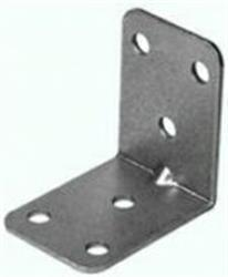 Heavy Duty Brackets Zinc Plated 50x50x36mm (x2)