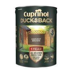 Cuprinol Ducksback 5L Harvest Brown