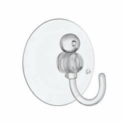 25mm Clear Suction Hooks (x2)
