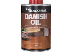 Blackfriar Danish Oil Clear Satin 1L