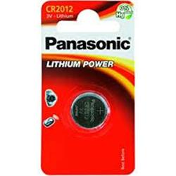 Panasonic CR2012 3v Lithium Battery