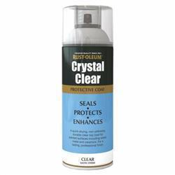 Rustoleum Crystal Clear Semi-Gloss 400ml