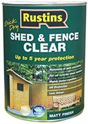 RUSTINS Shed and Fence Clear 1L
